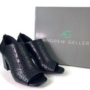 Andrew Geller Chase Open Toe Heels Size 7M